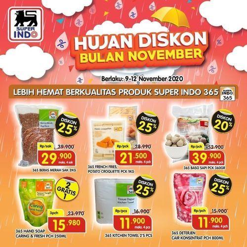 Superindo Hujan Diskon Bulan November (28962924) di Kota Jakarta Selatan