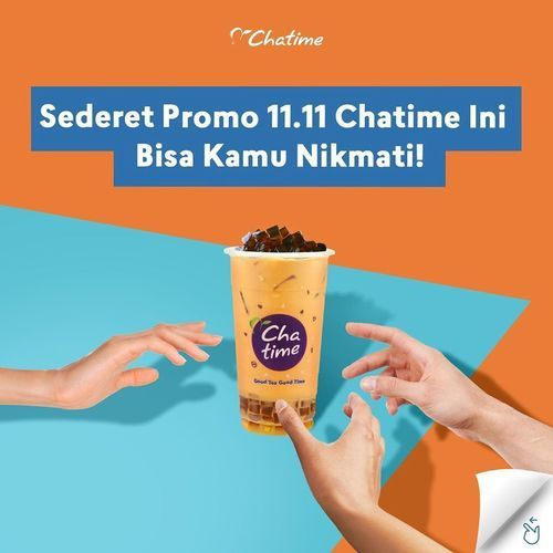Chatime Promo Novermber 11.11 (28963613) di Kota Jakarta Selatan