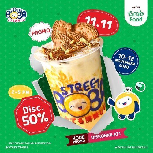 Street Boba 11.11 Disc. 50% (28963633) di Kota Jakarta Selatan