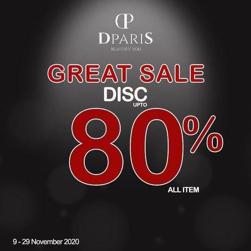 DPARIS Great Sale Disc. 80% (28964159) di Kota Jakarta Selatan