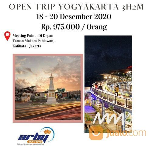 OPEN TRIP YOGYAKARTA 3H2M Berangkat Dari Jakarta (28972615) di Kota Jakarta Selatan