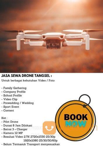 Jasa Drone Murah DJI Mavic Mini Untuk Berbagai Kebutuhan Video / Foto : (28977746) di Kota Tangerang Selatan