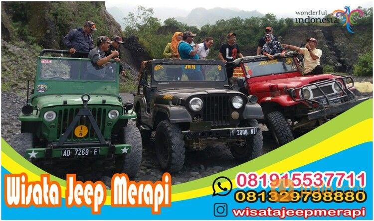 Wisata Jeep Merapi Yogyakarta - 081915537711 (28987387) di Kota Yogyakarta