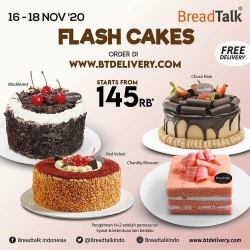 Breadtalk Promo Flash Cakes 145rb (28992395) di Kota Jakarta Selatan