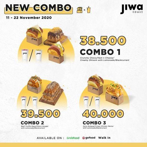 Jiwa Toast Promo New Combo (28992469) di Kota Jakarta Selatan