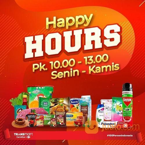 Transmart Promo Happy Hours (28999882) di Kota Jakarta Selatan