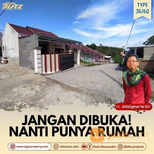Rumah BDL Subsidi DP 0 #A1911 (29005301) di Kota Bandar Lampung