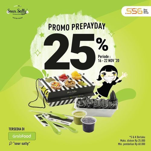 Sour Sally Promo Prepayday 25% Off (29011151) di Kota Jakarta Selatan