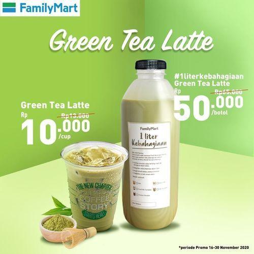 Family Mart Promo Green Tea Latte (29011166) di Kota Jakarta Selatan
