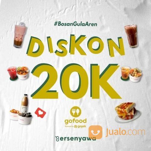 8ersenyawa Promo Potongan 20k di Gofoodnya Bersenyawa masih ada lho (29023748) di Kota Jakarta Selatan