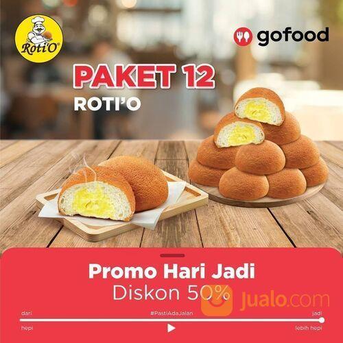 PROMO HARI JADI Roti'O X Gofood DISKON 50% Semuanya! (29023765) di Kota Jakarta Selatan