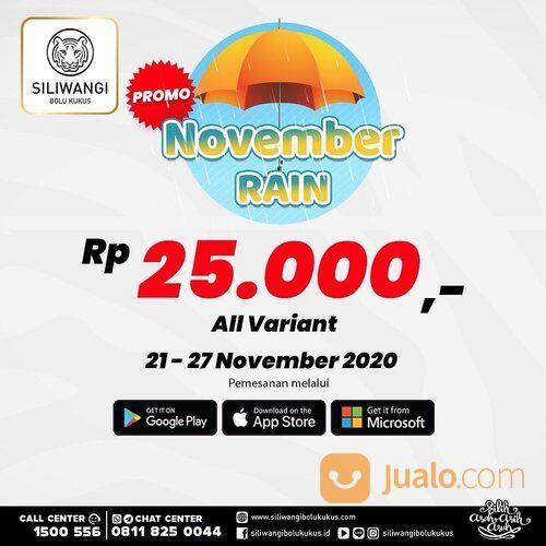 Siliwangi Bolu Kukus Promo November Rain - Hanya Rp. 25.000 pembelian di aplikasi (29023785) di Kota Jakarta Selatan