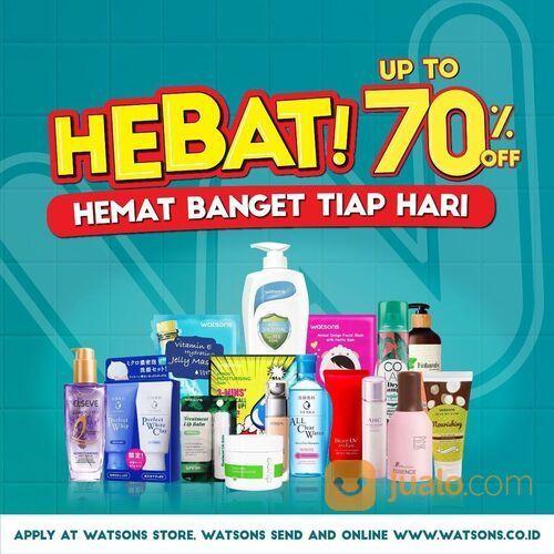 Warsons promo Hebat ada discount up to 50% untuk brand favorit kamu (29023810) di Kota Jakarta Selatan