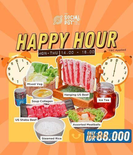 The Social Pot Paketan grill dan shabu dengan harga terjangkau, mulai dari 88 ribuan aja!!! (29024105) di Kota Jakarta Selatan