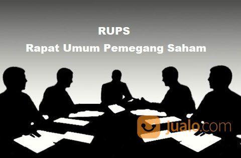 RUPS Akta Notaris, Perubahan, Penyesuaian, Pembubaran, AJB Saham (29033994) di Kota Jakarta Selatan