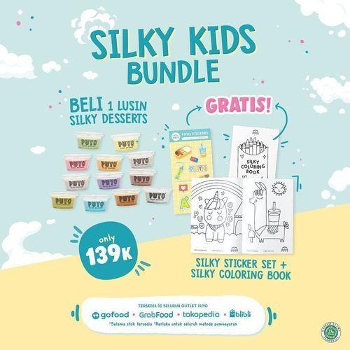 Puyo Dessert Silky Kids Bundle (29034924) di Kota Jakarta Selatan