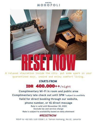Hotel Monopoli Rest Now Starts From 400.000 (29034926) di Kota Jakarta Selatan