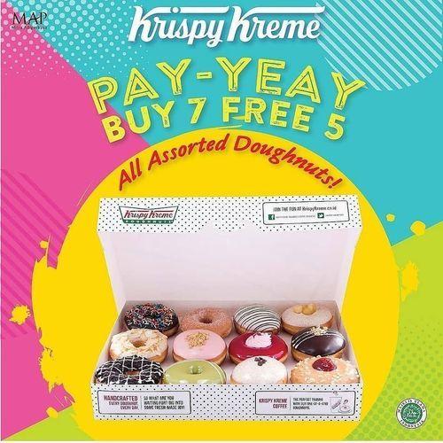 Krispy Kreme Pay-Yay Promo Buy 7 Free 5 (29034936) di Kota Jakarta Selatan