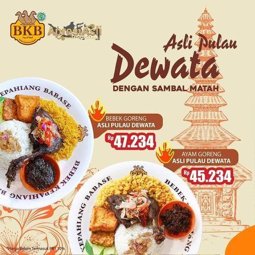 Bebek BKB Promo Menu Varian Asli Pulau Dewata (29034939) di Kota Jakarta Selatan