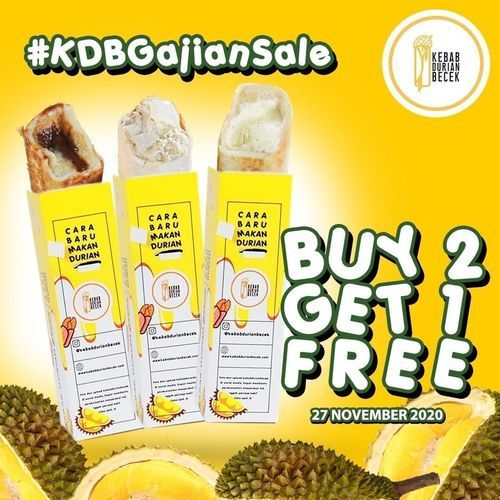 Kebab Durian Becek Prmo Buy 2 Get 1 Free (29046154) di Kota Jakarta Selatan