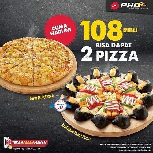 Pizza Hut 108 Ribu Bisa Dapat 2 Pizza (29053392) di Kota Jakarta Selatan