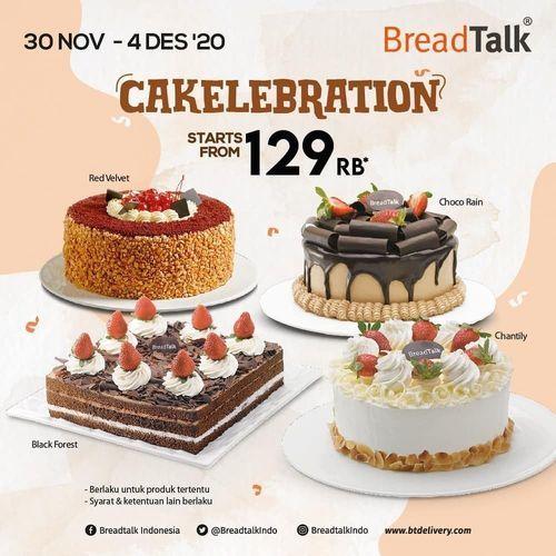 BreadTalk Promo Cakelebration Starts From 129 Rb (29055674) di Kota Jakarta Selatan