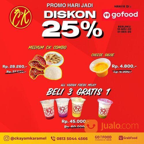 CK AYAM KARAMEL PROMO GOFOOD PROMO HARI JADI DISKON 25% (29055851) di Kota Jakarta Selatan