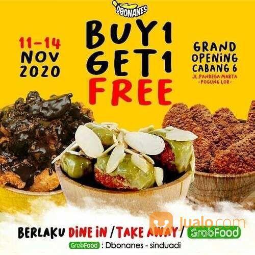 DBonanes Buy 1 Get 1 Free GRAND OPENING PROMO (29055992) di Kota Jakarta Selatan