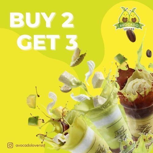 Avocado Lovers Promo Buy 2 Get 3 (29064015) di Kota Jakarta Selatan
