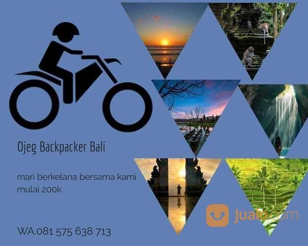 Ojeg Backpacker Bali Dengan Sepeda Motor (29068635) di Kota Denpasar