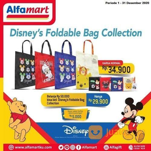 Alfamart Promo Disney Foldable Bag Collection Belanja Rp 50,000 bisa beli tas seharga Rp 29,900! (29075972) di Kota Jakarta Selatan