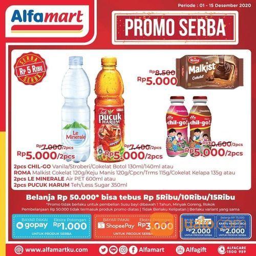 Alfamart Promo Serba Tebus murah mulai dari 5rb s.d 15 rb aja (29076044) di Kota Jakarta Selatan