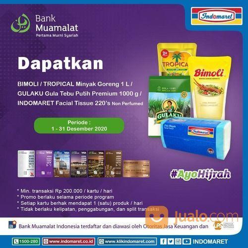 Indomaret Promo Setiap Transaksi belanja senilai Rp200.000 dengan Kartu Debit Bank Muamalat (29076066) di Kota Jakarta Selatan
