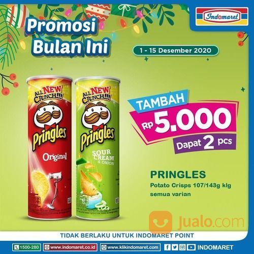 Indomaret Promosi Pringles Hanya tambah Rp5.000 bisa dapat 2 pcs* (29076068) di Kota Jakarta Selatan