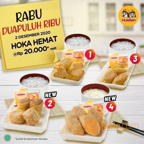 HokBen Promo Rabu DUA PULUH RIBU! (29078977) di Kota Jakarta Selatan