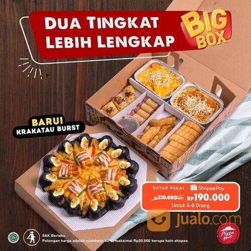 Pizza Hut Dua Tingkat Lebih Lengkap! Bayar pakai ShopeePay cuma Rp190.000 ! (29078986) di Kota Jakarta Selatan