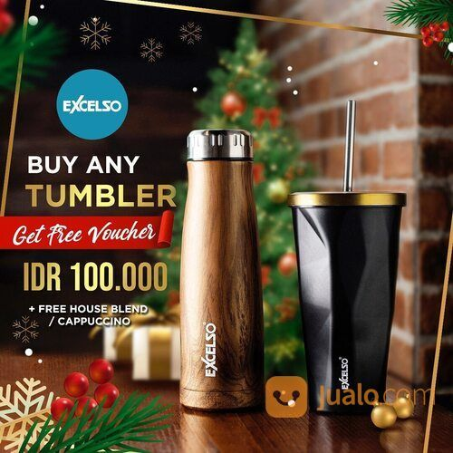 Excelso Buy Any Tumbler Get Free Vouchers IDR 100.000! (29093872) di Kota Jakarta Selatan