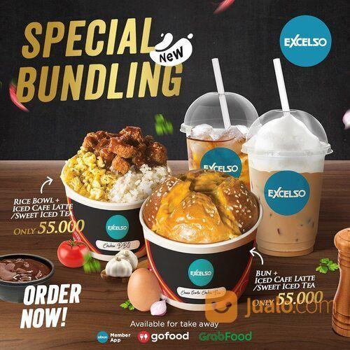 Excelso Dapatkan Promo Special Bundling Ricebowl dan Bun Series seharga Rp 55.000 (29094658) di Kota Jakarta Selatan