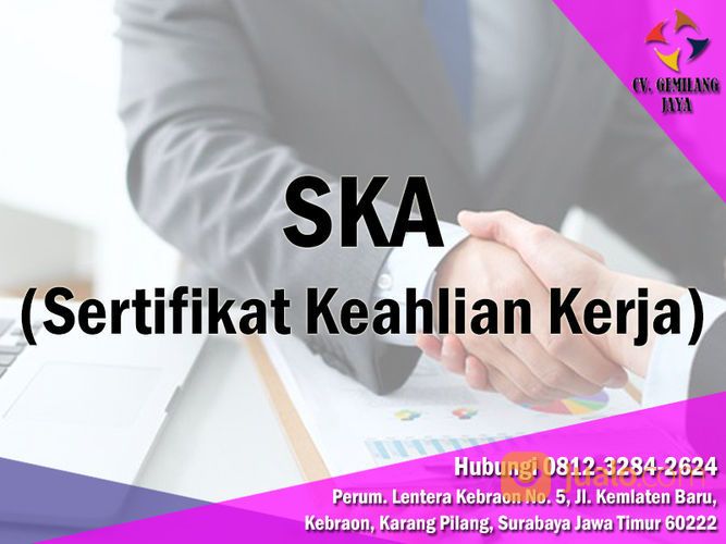 SKA ~ JASA PENGURUSAN SKA SURABAYA (29123924) di Kota Surabaya