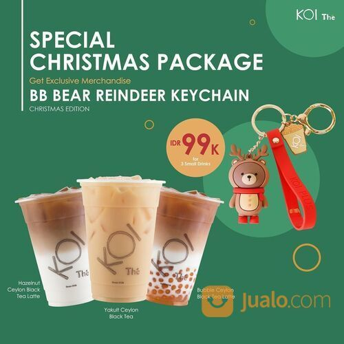 KOI Bubbling Christmas with Special Christmas Package Get exclusive Christmas Edition (29130310) di Kota Jakarta Selatan