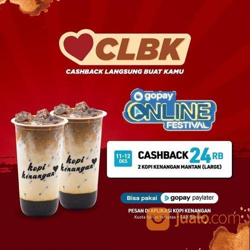 Kopi Kenangan Promo Cashback Langsung Buat Kamu! (29132820) di Kota Jakarta Selatan