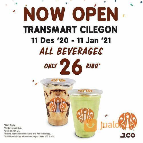 NOW OPEN ! Dapatkan promo menarik all Beverages only 26K Transmart Cilegon (29134061) di Kota Jakarta Selatan