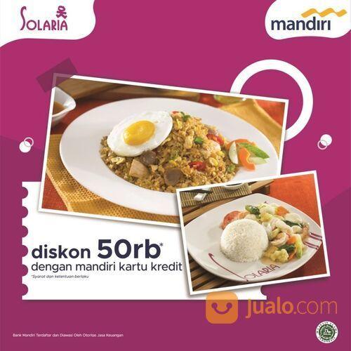 Solaria Promo dapatkan diskon 50rb dengan kartu Mandiri (29138424) di Kota Jakarta Selatan