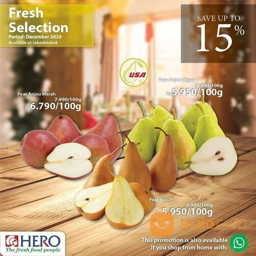 Hero Supermarket Promo Fresh selections only for our beloved customers with special discounts! (29138512) di Kota Jakarta Selatan