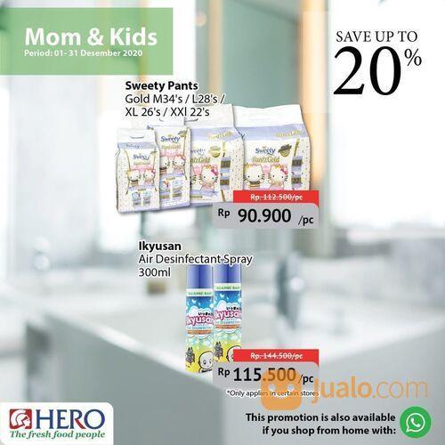 Hero Promo Mom & Kids Products save up to 20% (29138520) di Kota Jakarta Selatan