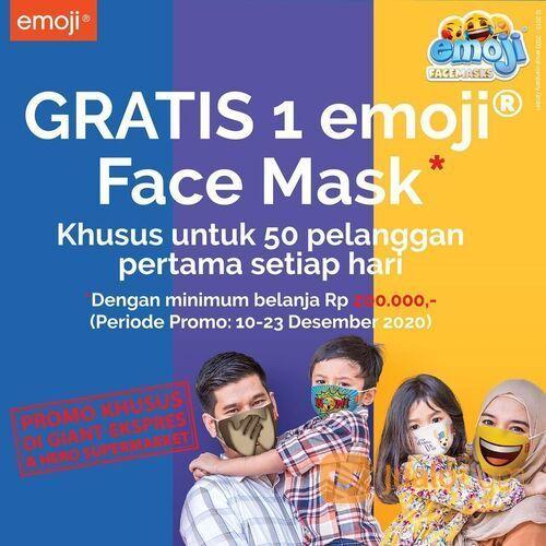 Hero Supermarket FREE EMOJI FACEMASKS! (29138553) di Kota Jakarta Selatan