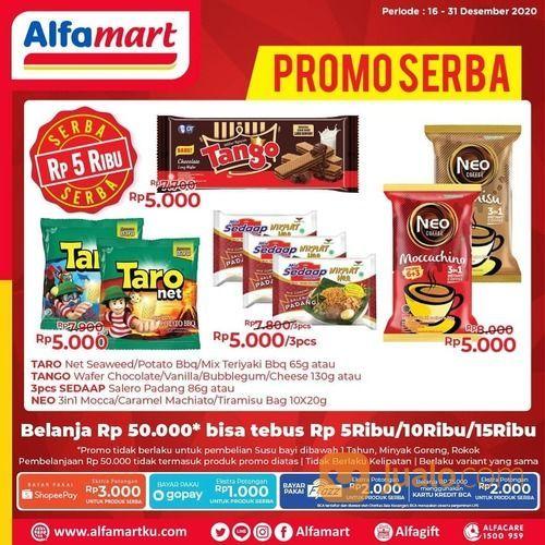 Alfamart Belanja min. Rp 50.000 di #Alfamart terdekat, Sahabat bisa lho dapatkan promo Serba berikut (29138599) di Kota Jakarta Selatan