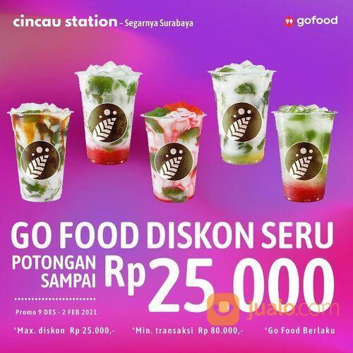 Cincau Station Promo GoFood Diskon Seru Potongan sampai Rp 25.000 (29142632) di Kota Jakarta Selatan