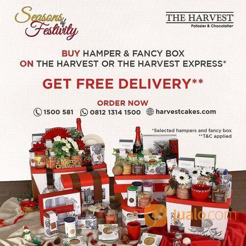 THE HARVEST Buy Hamper & Fancy Box ON THE HARVEST OR THE HARVEST EXPRESS GET FREE DELIVERY (29142883) di Kota Jakarta Selatan