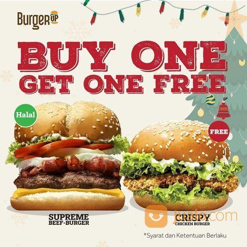 BurgerUp Promo Buy 1 Get 1 Free (29143701) di Kota Jakarta Selatan
